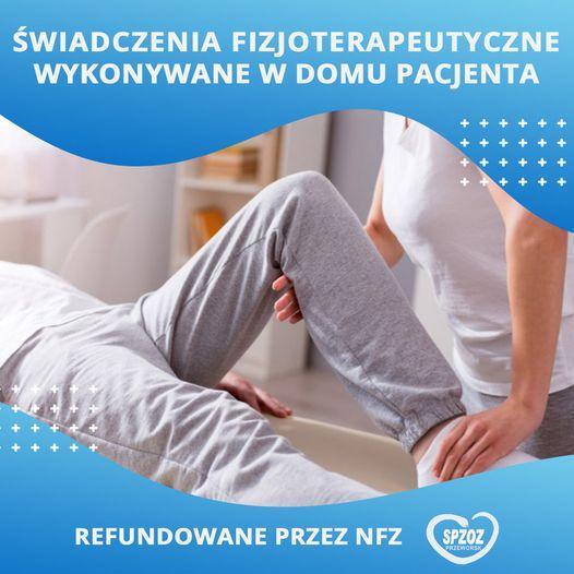 Świadczenia fizjoterapeutyczne wykonywane w domu pacjenta refundowane przez NFZ